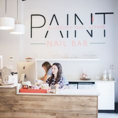 Paint Nail Bar in Sarasota, FL | Luxury Nail Affair | Manicures & Pedicures | www.paintnailbar.com