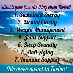 #le-vel #thrive  Thrive fills in those nutritional gaps so our body can operate at peak levels. So much natural all day energy, sleep better, think better, weight management, metabolic support, joint support, digestive support and overall Wellness!! Check out my site for more info www.thrive4premiumlife.com