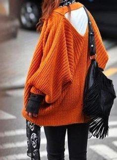 Japanese Street Wear Oversized Sweater