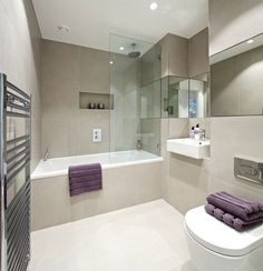 Suna Interior Design - The Filaments - Family bathroom
