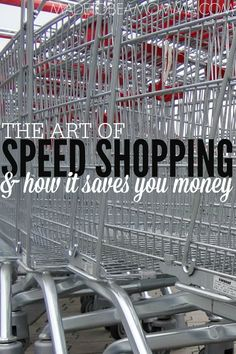 Wondering how you can save more money while shopping without becoming a slave to sales and coupons? The art of speed shopping is a great way to save $100's!