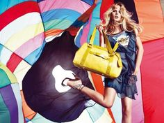 Hot Air Balloon Ads: Miss Sixty Gets Lifted for Spring/Summer '09 Campaign