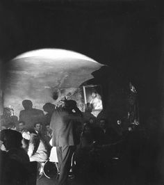 Robert Doisneau // Club de jazz à Saint Germain des Prés, c. 1950.