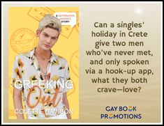 Crete Holiday, Gay, Fear Of Flying, Online Friends, A Hook, Two Men, Better Love, Book Title, Spotlight