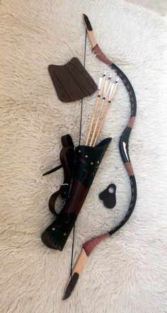 Hungarian set from leather - Recurvebowshop