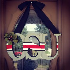Ohio State Buckeyes Sign by LuxeMotifBoutique on Etsy