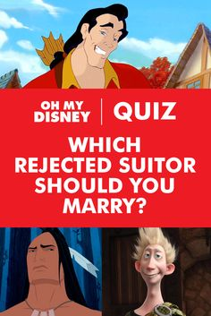 "Sometimes when Disney characters find their happily-ever-afters, rejected suitors get left behind to ponder their happily-ever-you-tried. Imagine living in their worlds, post-rejection, when they are still ""so eligible."" Which one would win your heart and finally put a nail in the coffin of their eternal bachelorhood? This Disney quiz will tell you."