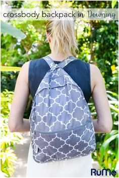 What's a fashion essential for Summer 2016? Backpacks. Whether you're heading to the jungle or jetsetting in style, our Crossbody Backpack in Downing is an accessory must.