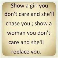 Girl vs Woman