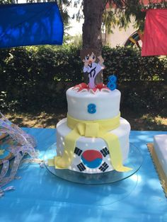 tae kwon do Birthday Cake, Cakes, Desserts, Food, Birthday Cakes, Meal, Deserts, Essen, Hoods