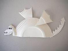 "Create a magical dragon from one paper plate.      Inspired by the brand new series, Dragons: Race to the Edge , by the creators of "" How to..."