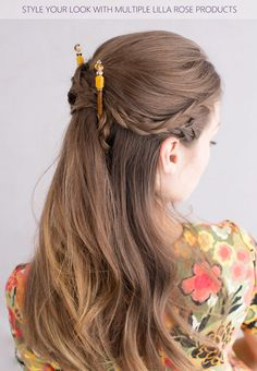 c3e12721f Beautiful Amber hair sticks in a side braids criss-crossed style. Amber Hair ,