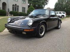 1986 PORSCHE 911 CARRERA 930 TARGA 3.2-liter - Black