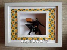 Encadrement de l' Atelier ANGLE DROIT- - Batman- Boitage Angles, Batman, Frame, Home Decor, Picture Frame, Atelier, Decoration Home, Room Decor
