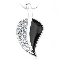 Srebrny wisiorek listek - Biżuteria srebrna dla każdego tania w sklepie internetowym Silvea