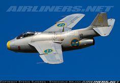 Saab J29F Tunnan aircraft picture