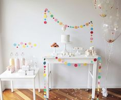 Confetti party | Holamama blog