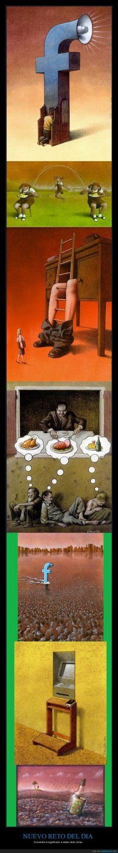 Pawel Kuczynski siempre haciéndonos reflexionar - Encuentra el significado a estas otras obras