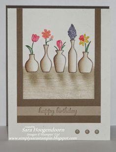 Simply Sara Stampin': Vivid Vases