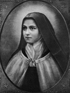 "Saint Thérèse of Lisieux (Born Marie-Françoise-Thérèse Martin, January 2, 1873 – September 30, 1897), or Saint Thérèse of the Child Jesus and the Holy Face, O.C.D., was a French Discalced Carmelite nun. She is popularly known as ""The Little Flower of Jesus"" or simply, ""The Little Flower."""
