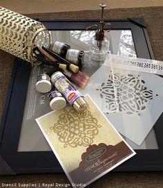 Antique Turkish Mirror Project Supplies | Royal Design Studio
