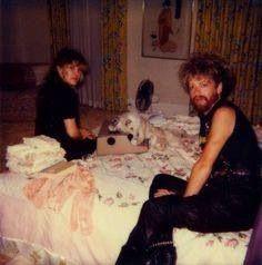 Stevie Nicks and Dave Stewart