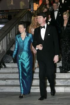 Princess Anne and Commodore Timothy Laurence: