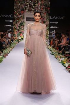 Shyamal Bhumika Couture Gown available exclusively in the US at Kamal Beverly Hills - www.KamalBeverlyHills.com