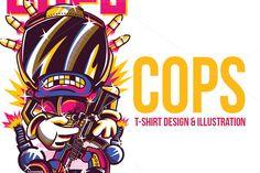 COPS Illustration by BadSyxn on @creativework247