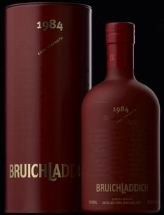Bruichladdich Redder Still. I love Bruichladdich, and I love red wine cask finishes (for the most part) so this was a no-brainer.