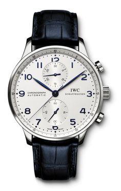 Resultado de imagem para iwc portuguese chronograph