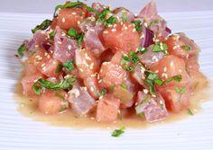 Tuna and Watermelon Ceviche (Ceviche de Atun y Sandia)
