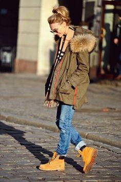 Las #botas de montaña son perfectas para nuestros #outfit más casuales. #fashion #style