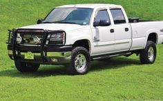 1104Dp April 2011 Readers Diesels 2004 Chevy Silverado 2500Hd  Nice but not white