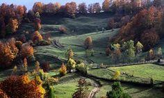 Mountain trails in Kosovo.