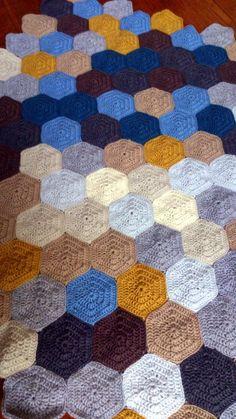 mevr. Snoeshaan: Patroon en werkbeschrijving pixeldeken