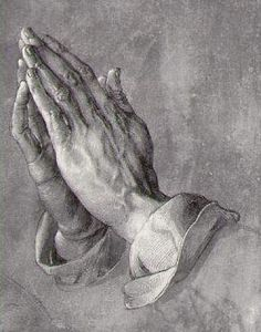 "My Brother's Hands - True Story - Albrecht Durer - ""the praying hands"" Read the story if you don't know it."