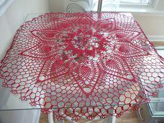 pinterest chochet dollies | ... large doily handmade crocheted doilies new - Hand Crocheted Doilies