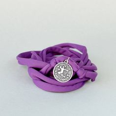 Boho wrap bracelet for Sagittarius women in your choice of colors. Sagittarius jewelry makes a great gift for her for December birthdays. Check out more zodiac jewelry designs in my shop!