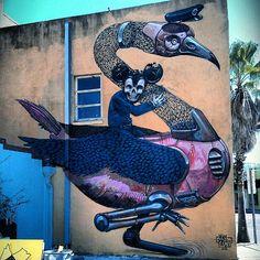 Pixel Pancho New Mural In Sarasota