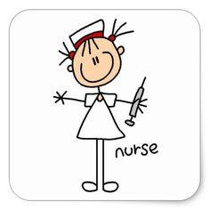 Shop Nurse Stick Figure Sticker created by stick_figures. Cartoon Drawings, Easy Drawings, Nurse Clip Art, Nurse Drawing, Nurses Week Quotes, Nurse Cartoon, Stick Figure Drawing, Cute Nurse, Rock Painting Designs