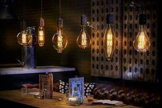 Przegląd najpiękniejszych lamp w aranżacjach wnętrz - Myhome #lamps #industrial #light #home