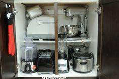 Small Appliances Organized