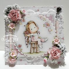 Hello everyone! New challenge is started at Craft-Heaven shop Inspirational blog !!!! This month's theme is ...Scent of Flower... ...