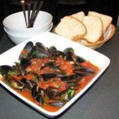 It will save you a trip to Pizza Bellaroma in Fremantle. Make sure you have some great bread to soak up the juices. - Chilli Mussels