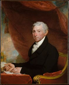 James Monroe Gilbert Stuart  Date: ca. 1820–22