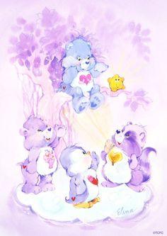 Classic Care Bears and Cousins 90s Childhood, Childhood Memories, Care Bear Tattoos, Care Bears Vintage, Rainbow Brite, Kawaii, Bear Art, Cool Cartoons, Cute Wallpapers