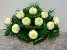 Creative Flower Arrangements, Christmas Flower Arrangements, Flower Arrangement Designs, Funeral Flower Arrangements, Beautiful Flower Arrangements, Beautiful Flowers, Grave Flowers, Church Flowers, Funeral Flowers
