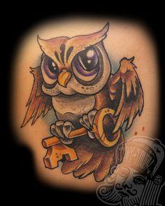 owl tatto =)