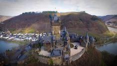 Germany by drone - Cochem and the Mosel.
